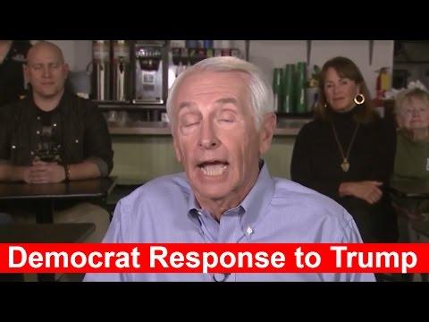 Negative Democratic Response to Donald Trump
