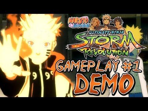 naruto-shippuden™:-ultimate-ninja®-storm-revolution---demo---naruto-(bijuu)-gameplay-#1【hd】