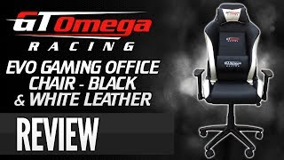 Gt Omega Racing Evo Gaming Office Chair [review]