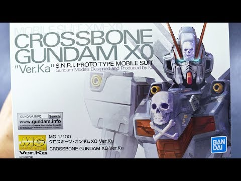 MG Crossbone Gundam XO Ver.Ka UNBOXING