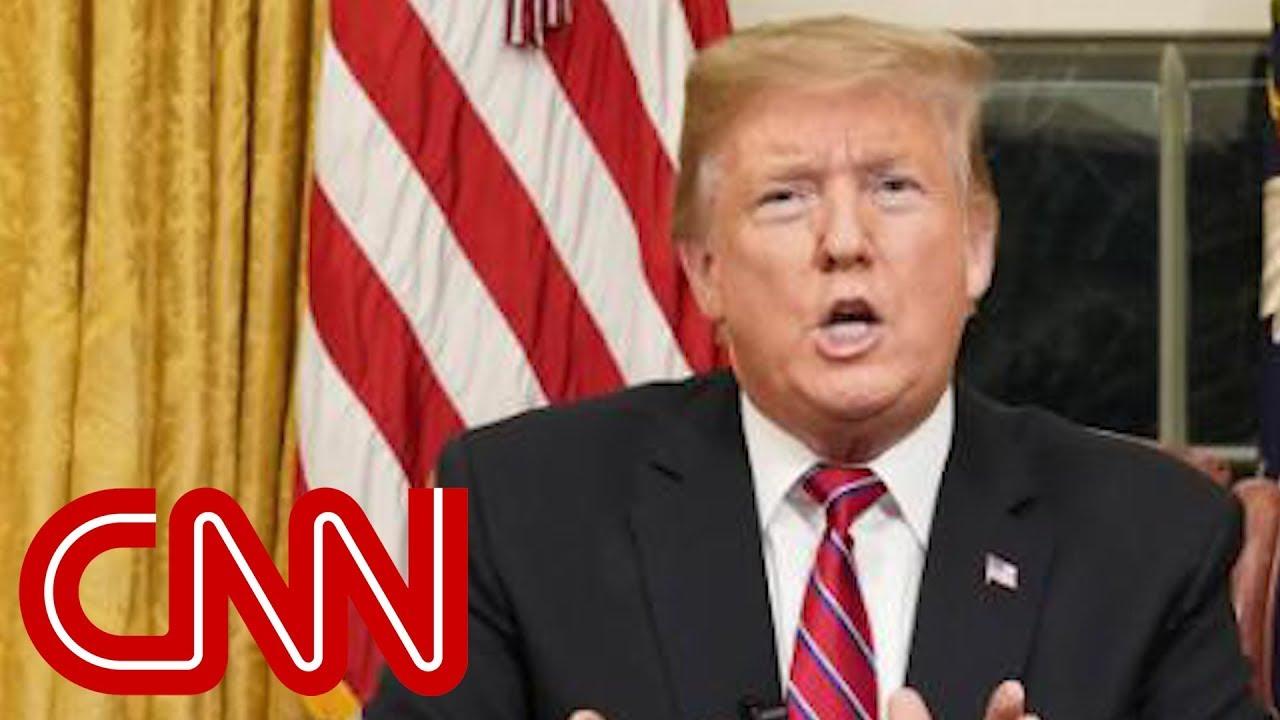 Fact-checking Trump's speech declaring a national emergency