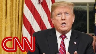 CNN fact-checks Trump's Oval Office speech