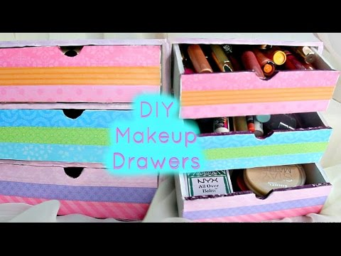 Diy makeup drawersorganizers youtube diy makeup drawersorganizers solutioingenieria Gallery