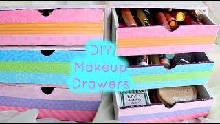 Diy Makeup Drawers/organizers
