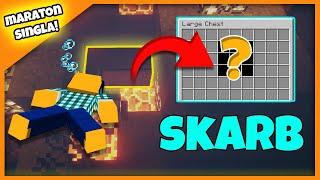 """Minecraft #418 - """"GRAVEL SKARB I PODWODNY PROJEKT!"""""""