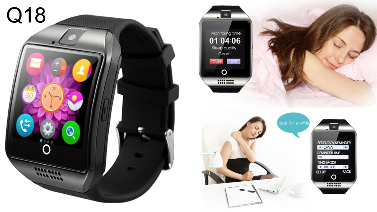 Q10 Smart Watch Phone Unboxing Video