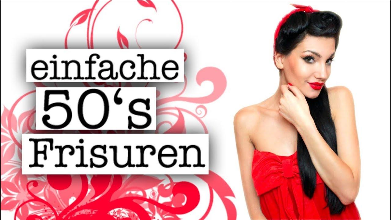 Hochtoupiert & Weggeföhnt Pin Up Hair Updo By MiezeTv YouTube