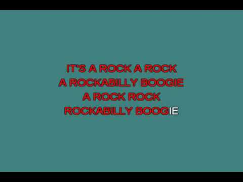 Rockabilly Boogie   Gordon Robert [karaoke]