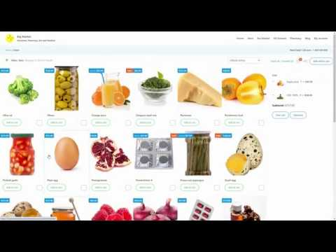Big Market for WooCommerce - Starter pack for Groceries, Pharmacy, Bio and Medical eCommerce