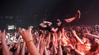 Crowd surfing in Poland!