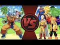 Goku vs The World! (Goku vs Saitama, Sonic, Hulk, Naruto & More) Dragon Ball Super Animation Rewind