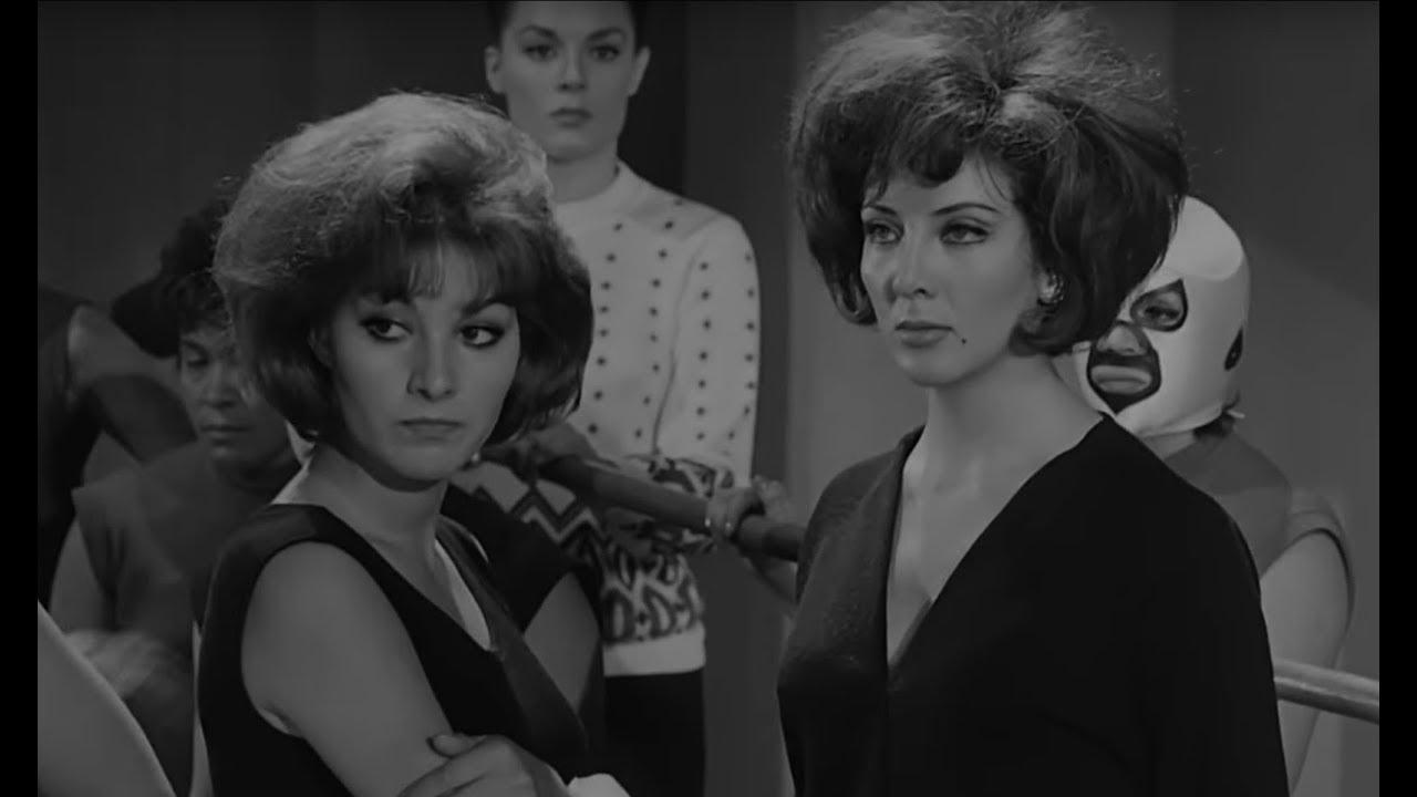 Avances de la película mexicana clásica Las Lobas del Ring (1965)  | Tele N