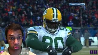 "Best ""Big Guy"" Moments in Football (REACTION)- HOW DO YOU GET STIFF ARMED BY A DEFENSIVE TACKLE? LOL"