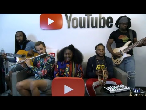 Tank And The Bangas - Performance At YouTube HQ!