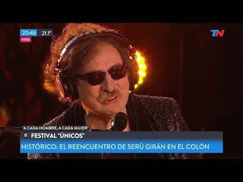 GarcíaAznarLebón - Teatro Colón - Serú Girán 2019 - en TV y en Filmadora