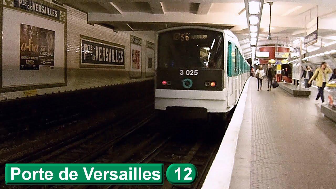 Porte de versailles ligne 12 m tro de paris ratp for Porte de versailles salon metro