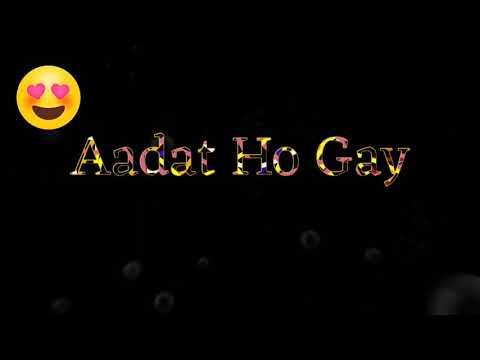 Uski hame aadat hone ki aadat ...New love song video editing .boy .jitu mhatre. no. 9702628409
