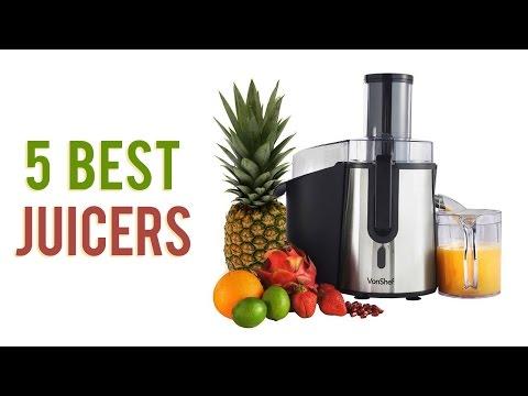 5 Best Juicers 2017 - Top Juicer Reviews
