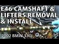BMW E46 Remove & Install Camshafts #m54rebuild 9