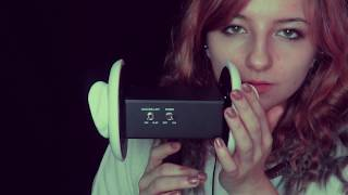 ASMR ~ Slow and Sleepy Sounds (Ear Massage, Breathing, Tapping)