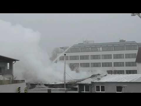 Groß Brand in Oberursel