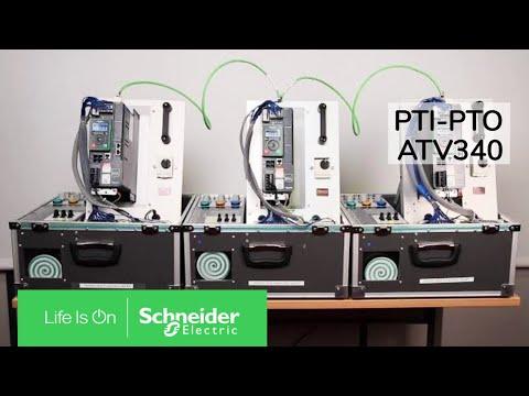 How to configure pulse control (PTI-PTO) in ATV340?