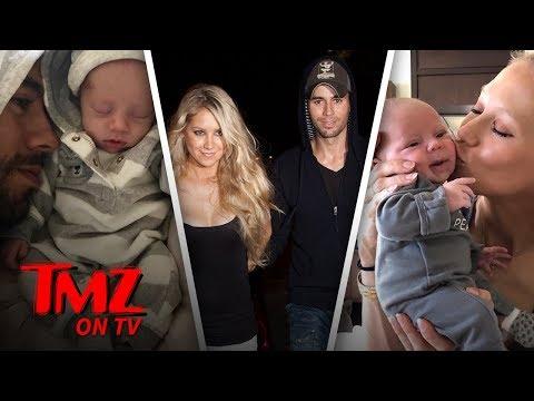Enrique Iglesias Shares The First Photos Of His Twins! | TMZ TV