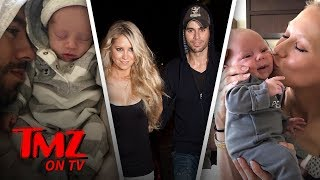 Enrique Iglesias Shares The First Photos Of His Twins! | TMZ TV