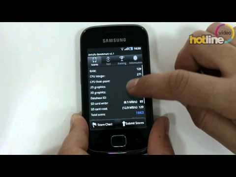 Обзор Samsung Galaxy Gio