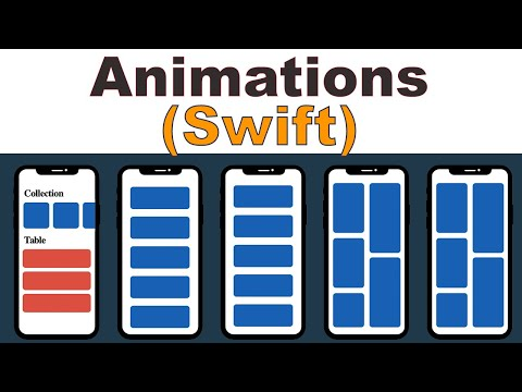 View Animations In App (Swift 5) Xcode 11 - 2020 - Core Animation