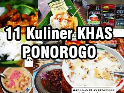 11 Wisata Kuliner Khas Ponorogo Jawa Timur By Effendy Ankers
