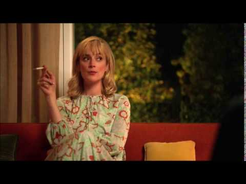 Caitlin Fitzgerald smoking