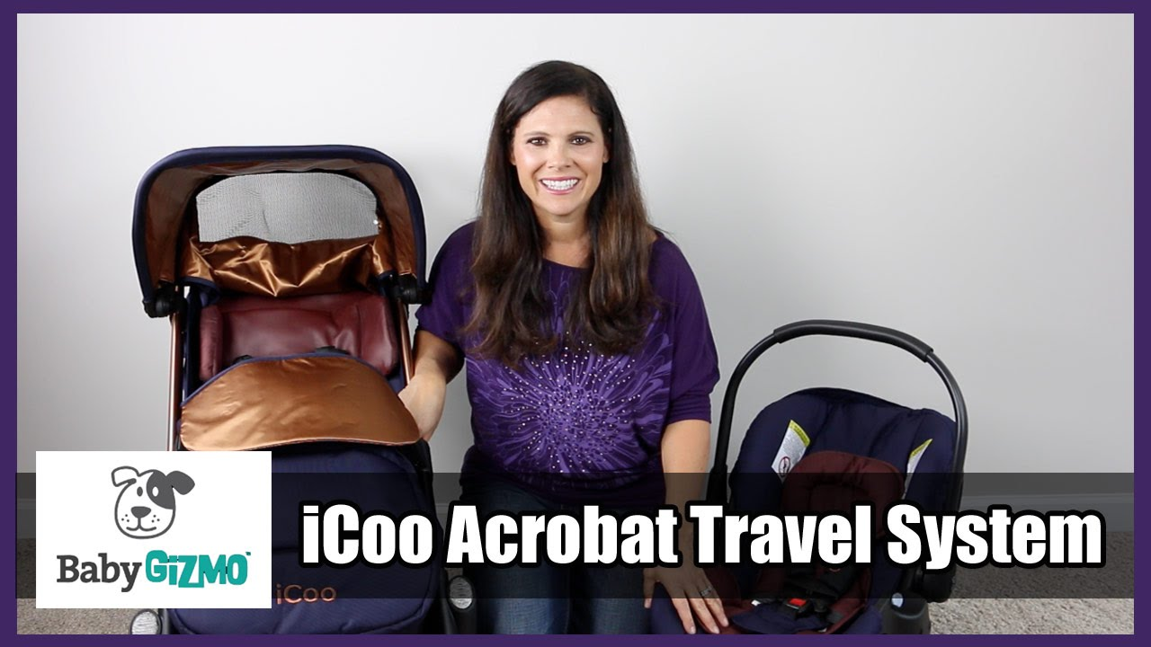 iCoo Acrobat Travel System Stroller and Car Seat Review by Baby ... 40e0f4ede