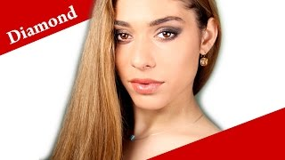 Contouring a DIAMOND face shape - How to apply makeup on diamond face video tutorial Thumbnail