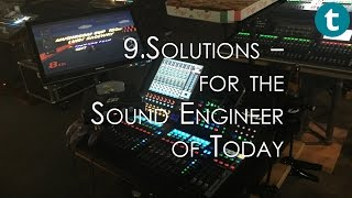 9.solutions support systems - for the sound engineer of today