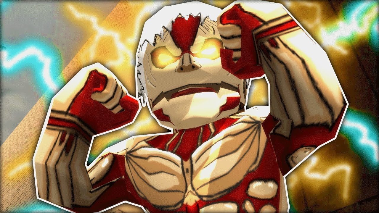REINER ARMORED TITAN FORM !! - Attack on Titan TRIBUTE GAME - YouTube