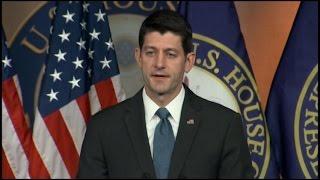 Watch Paul Ryan's News Conference on Puerto Rico Debt Bill