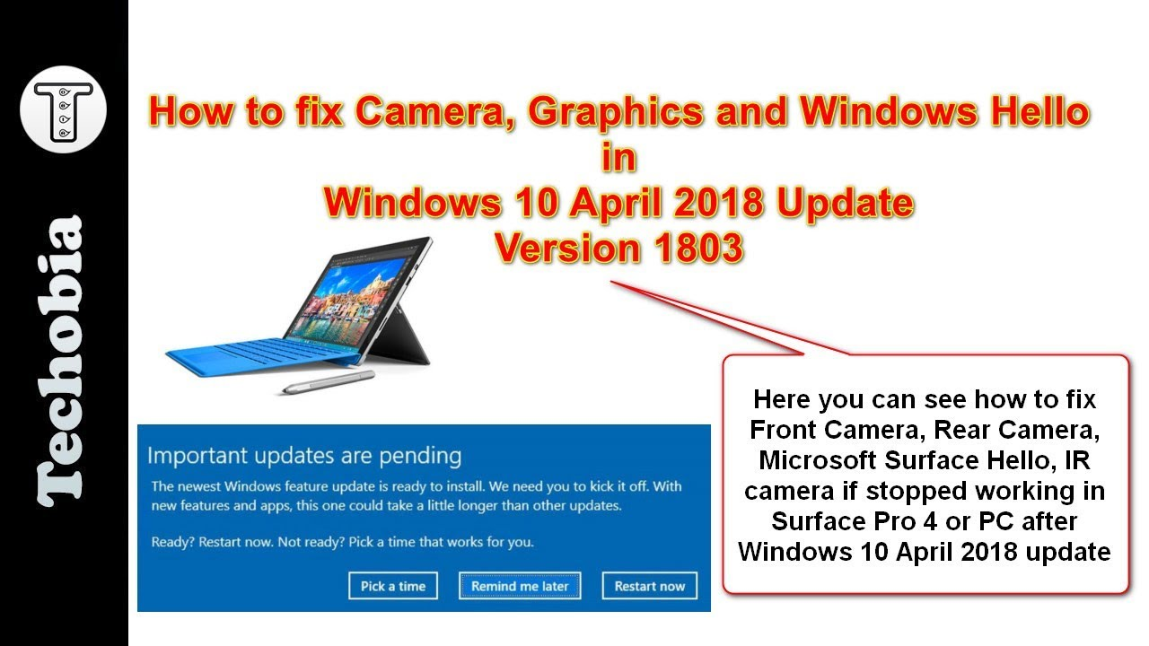 Microsoft Surface Camera Windows Hello Driver Download