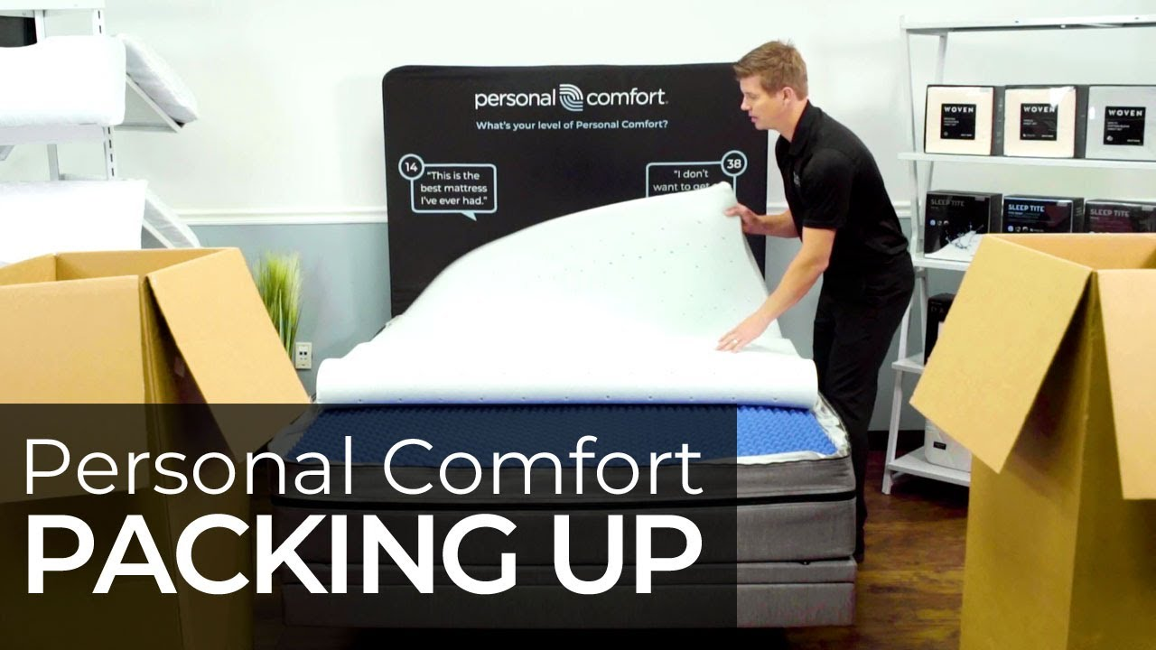 How To Pack Up The Personal Comfort Number Bed Youtube