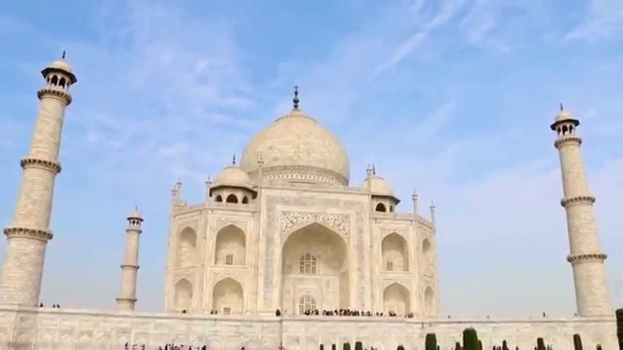 taj mahal india (agra) [hd] [1080p] 360 degree view - youtube