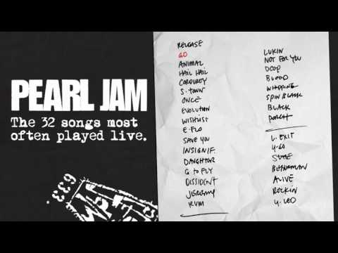 Pearl Jam – The 32 most played Live songs