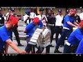 Download Video Peringati HUT Satpam Ke 37, Di Makassar Petugas Satpam Unjuk Kemampuan.