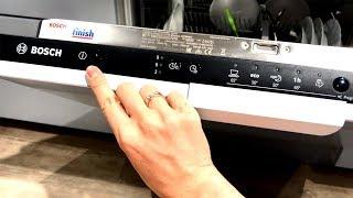 Посудомоечная машина Bosch SMV25AX01R. Отзыв и обзор