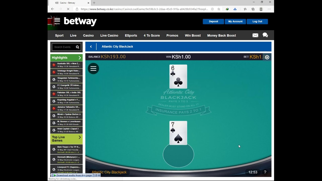 Betway Casino Win
