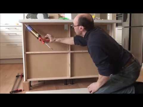 IKEA - End panel, Back panel installation