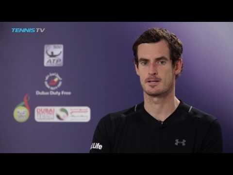 Murray Reflects On Thrilling Kohlschreiber Win At Dubai 2017