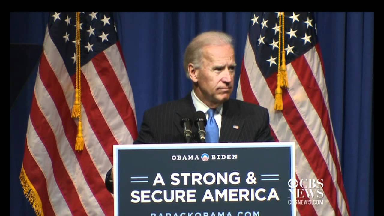 Joe Biden Did Not Have the Guts to Get Osama bin Laden