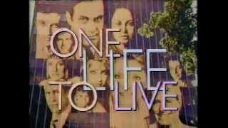 One Life To Live 1986 Intro