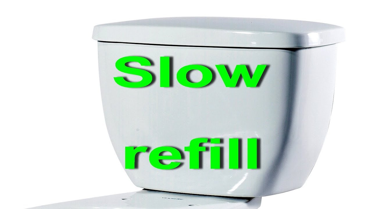 Toilet Tank And Bowl Slow To Refill How To Fix Slow Fill