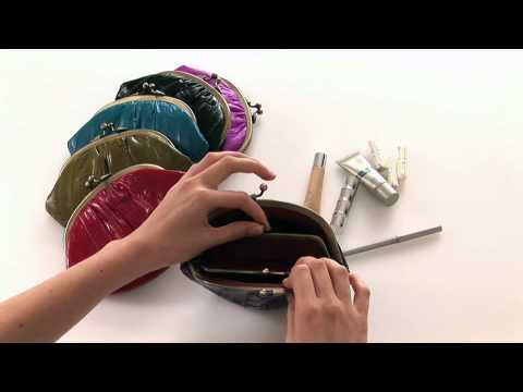 Eel Skin Purse-Clutch